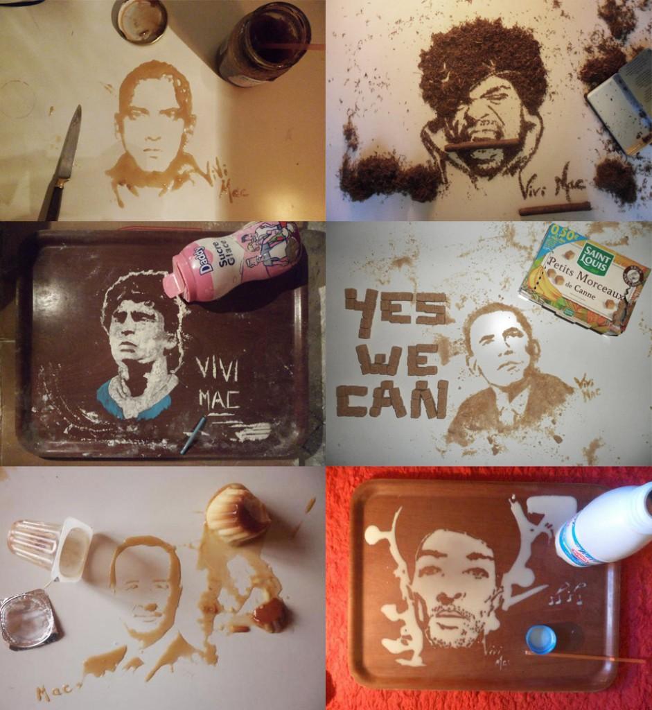 Les peintures de Vivi Mac