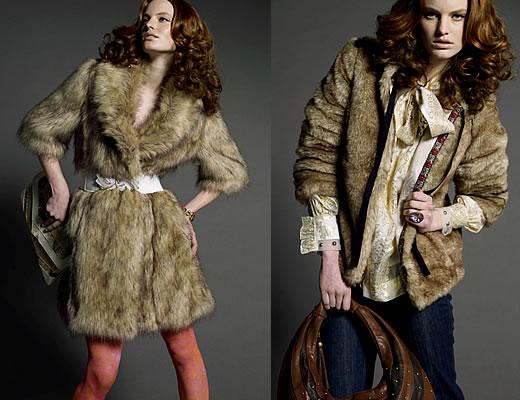 La mode des vestes en fourrure