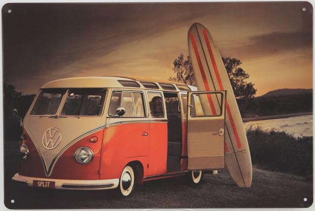 Plaque émaillée Volkswagen