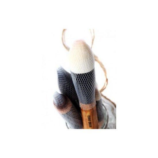 15 filets de protection pour pinceaux maquillage - Brush Guard