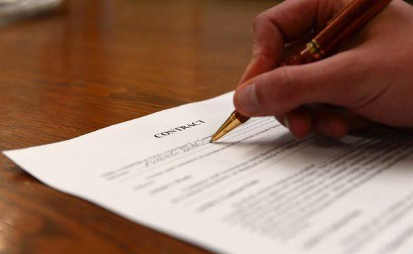 contrat type