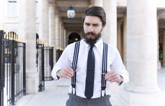 Bretelles : un accessoire de mode tendance pour homme