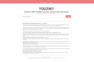 Youzik Interface